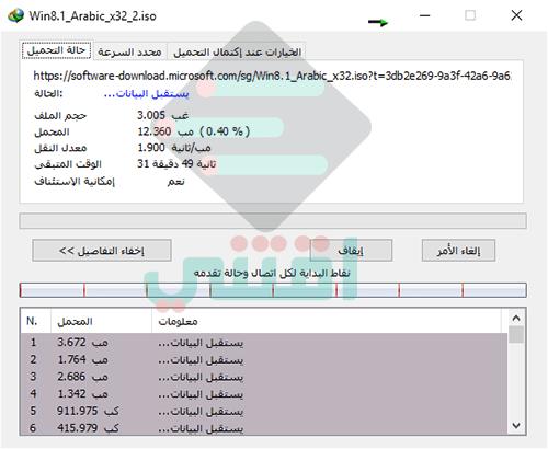 تحميل ويندوز 8.1 أصلية من مايكروسوفت بجميع اللغات Windows 8.1 Original