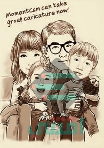 برنامج MomentCam للاندرويد والايفون لتحويل الصور إلى رسم كرتوني