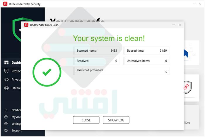 برنامج بت ديفندر مجاني Bitdefender Antivirus Free