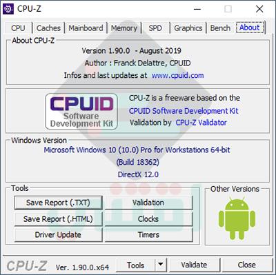 تحميل برنامج CPU-Z آخر إصدار لعرض مواصفات مكونات جهاز الكمبيوتر